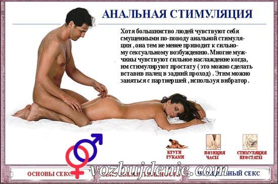 Позы анального секса в картинках с описанием