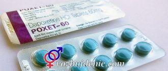 Таблетки Дапоксетин: отзывы пациентов, инструкция, купить в аптеках