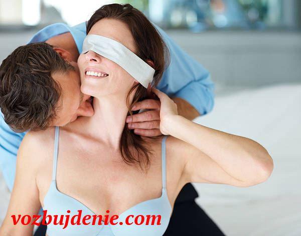 Поцелуи в шею очень возбуждают