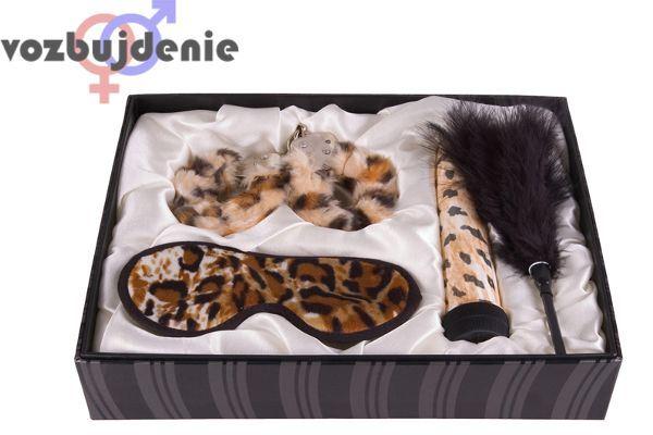 леопардовый сексуальный набор