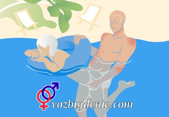 Необычная поза в сексе «Русалка»