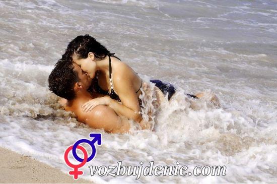 романтичный секс на пляже