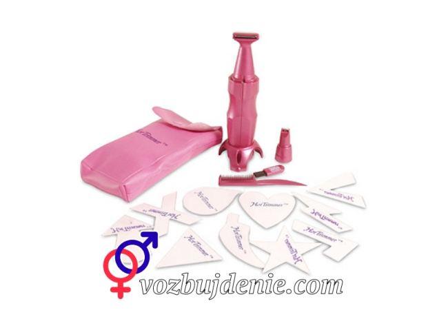 Инструменты для создания интимной стрижки дома