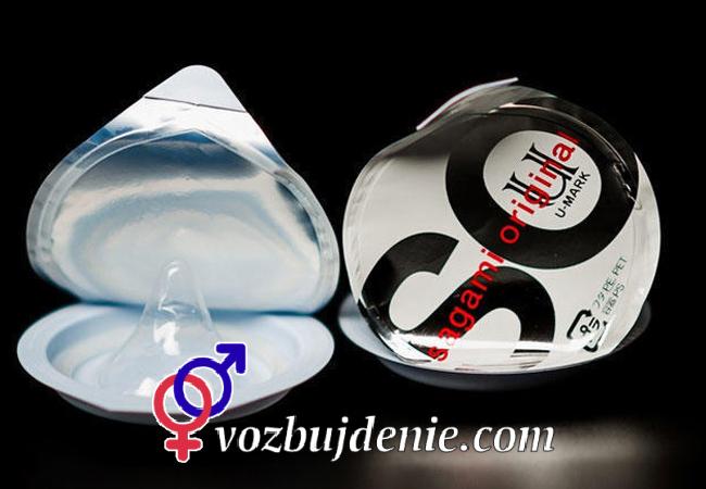 Полиуретановые кондомы Sagami Original №6