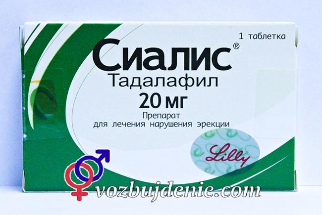 Применение Таблетки Сиалиса (Тадалафила)